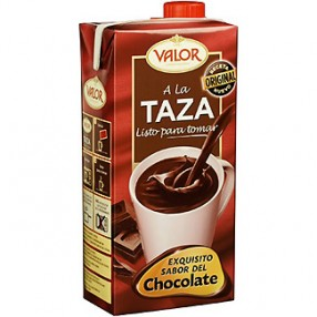 VALOR Chocolate a la taza liquido 1 L