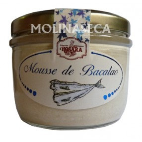 ROSARA Mousse Bacalao frasco 125 grs