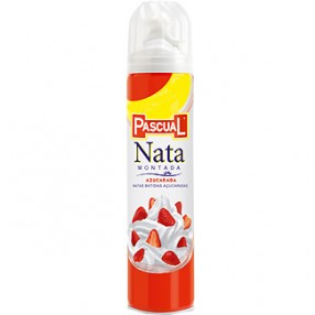 PASCUAL nata montada azucarada spray 250 ml