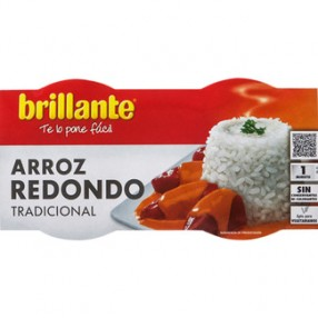 BRILLANTE arroz redondo pack 2