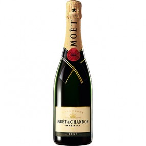 Champagne brut imperial MOET & CHANDON botella 75 cl
