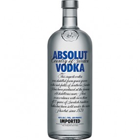 Vodka Sueco ABSOLUT botella 70 cl