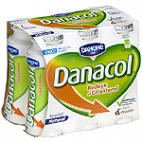 DANONE DANACOL yogur liquido natural pack 6