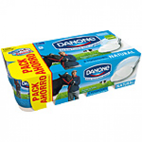 DANONE yogur natural pack 8 unidades