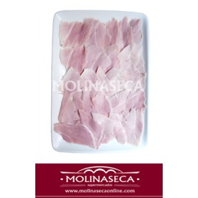 Lacon cocido con hueso en lascas M.R.M.2 peso aproximado sobre 200 grs