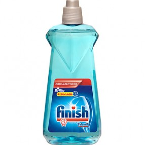 FINISH calgonit detergente abrillantador de lavavajillas brillo + secado botella 500 ml