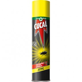 CUCAL insecticida para cucarachas spray 400 ml