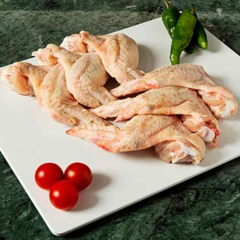 Alitas de Pollo FORMATO AHORRO peso aproximado bandeja 1 kg