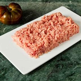Carne picada de cerdo bandeja 500 grs