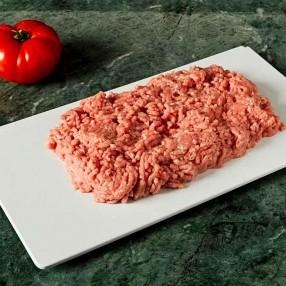 Carne picada de ternera blanca bandeja 500 grs
