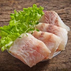 Cachetes de merluza peso aproximado bandeja 750 grs