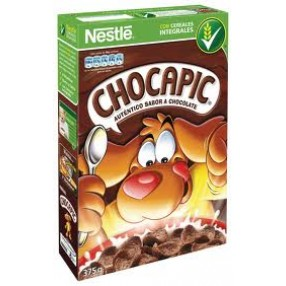 NESTLE CHOCAPIC Cereales paquete 375 grs