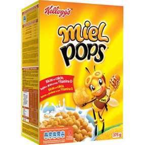 KELLOGG´S MIEL POPS Cereales paquete 375 grs