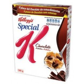KELLOGG´S SPECIAL K CHOCO Cereales paquete 375 grs