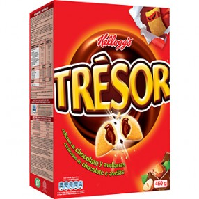 KELLOGG´S TRESOR Cereales paquete 450 grs