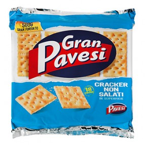 PAVESI Cracker normal envase 250 grs