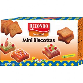 RECONDO mini biscotes 120 grs