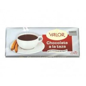 VALOR chocolate a la taza tableta 300 grs