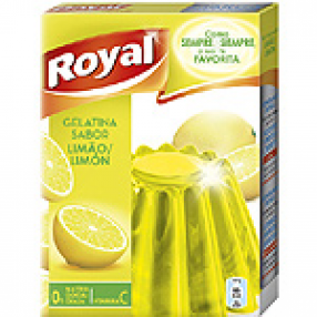 ROYAL gelatina sabor limon 170 grs