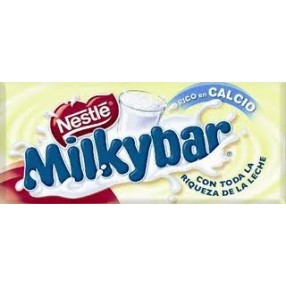 NESTLE MILKYBAR chocolate blanco tableta 75 grs