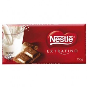 NESTLE chocolate con leche extrafino tableta 150 grs
