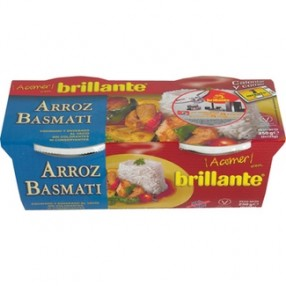 BRILLANTE arroz basmati pack 2