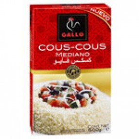 GALLO cous cous mediano paquete 500 grs