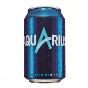 AQUARIUS sabor limon lata 33 cl