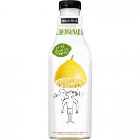 MINUTE MAID limon & nada botella 1 L