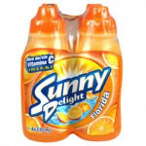 SUNNY DELIGHT florida pack 4 botellas 200 ml