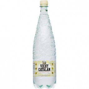 VICHY CATALAN agua mineral natural con gas botella 1,2 L