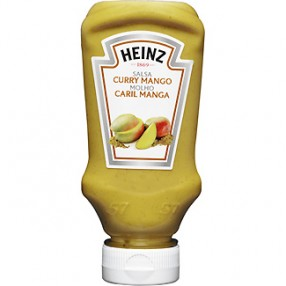 HEINZ salsa de curry mango 220 ml