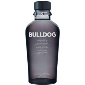 Ginebra BULLDOG botella 70 cl