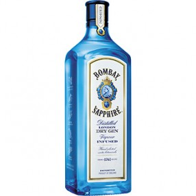 Ginebra BOMBAY SHAPIRE botella 70 cl