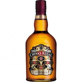 Whisky Escoces 12 años CHIVAS REGAL botella 70 cl