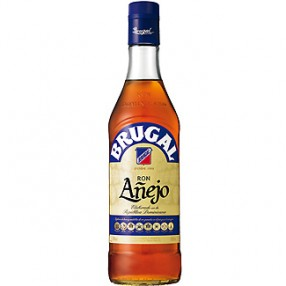 Ron añejo Dominicano BRUGAL botella 70 cl