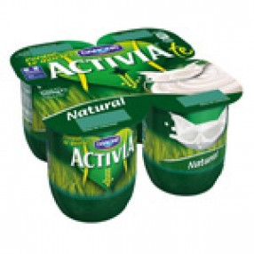 DANONE ACTIVIA yogur natural pack 4