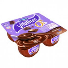 DANONE VITALINEA yogur cremoso chocolate pack 4