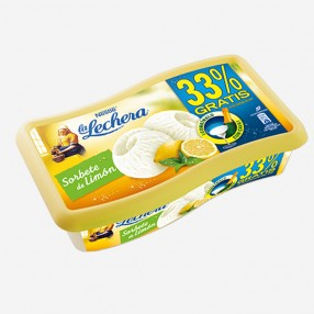 LA LECHERA Sorbete de limon tarrina 900 ml