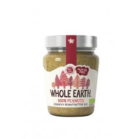 WHOLE EARTH crema de cacahuete crujiete 227 grs