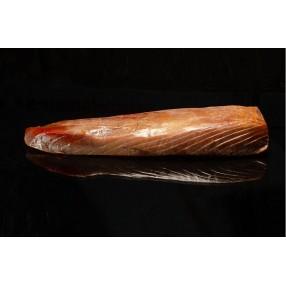 Lomo de atun rojo salvaje ahumado al corte bandeja 100 grs