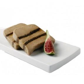 Bloc de foie gras de pato con higos peso aproximado 100 grs