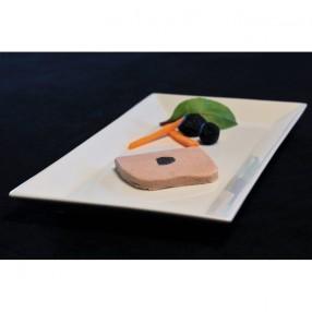 Bloc de foie gras de pato trufado peso aproximado 100 grs