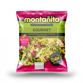 Ensalada Gourmet peso aproximado bolsa 110 grs