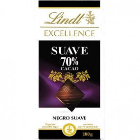 LINDT Excellence chocolate negro 70 % cacao tableta 100 grs