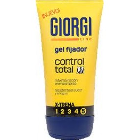 GIORGI gel fijador control total tubo 150 ml