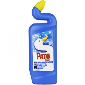 PATO WC desinfectante 3 en 1 azul oceano botella 750 ml