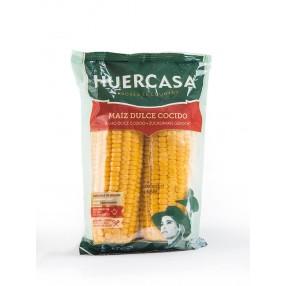 HUERCASA Maiz dulce en mazorca peso aproximado 400 grs
