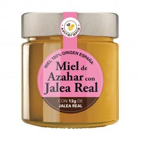 LA OBRERA DEL COLMENAR Miel Azahar con jalea real tarro 300 grs