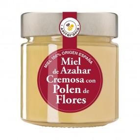 LA OBRERA DEL COLMENAR Miel Azahar con polen de flores tarro 300 grs